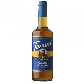 Torani Classic Caramel Sugar Free 750ml