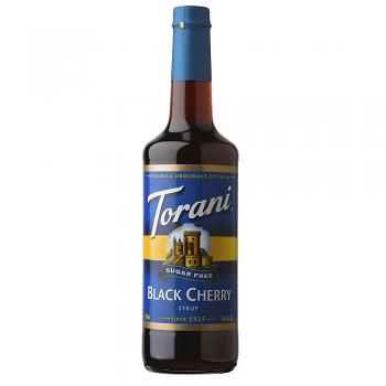 Torani Sugar-Free Black Cherry syrup 750ml