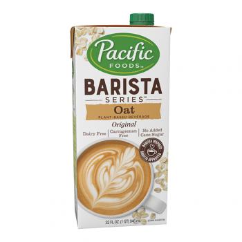 Pacific Barista Series Oat Beverage Original Non-Dairy 32oz/946ml