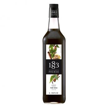 1883 Chai Tea Syrup 1L Glass Bottle