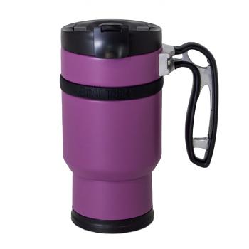 Planetary Design Double Shot Travel Press with Bru-Stop 16 fl. oz. - Wild Plum Purple - DS1216