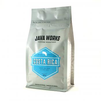 Java Works Single Origin Costa Rica Whole Beans - 12oz bag