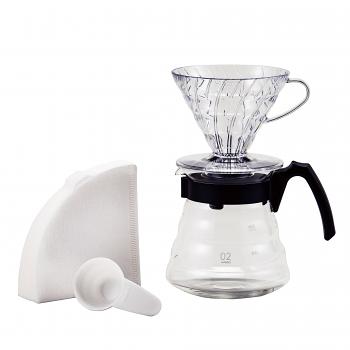 Hario V60 Craft Coffee Maker Dripper Kit 02 Set - VCND-02B-EX