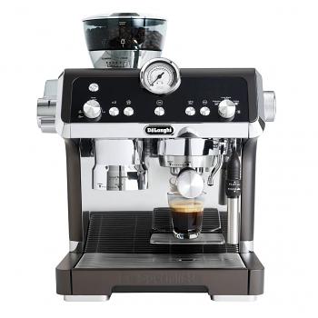 DeLonghi La Specialista Semi-Automatic Espresso Machine with Built-in Grinder Black - EC9335BK