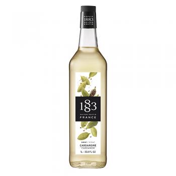 1883 Cardamom Syrup 1L Glass Bottle