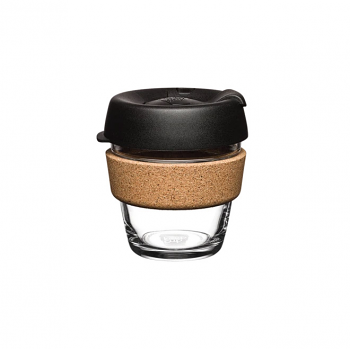 KeepCup Brew Cork 6oz - Black Espresso
