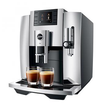 Jura E8 2021 Superautomatic Espresso Machine - Chrome #15371