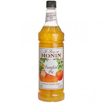 Monin Pumpkin Pie Syrup 1L PET Bottle
