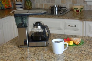 Bonavita BV1800 Stainless Steel Coffee Maker with Glass Carafe