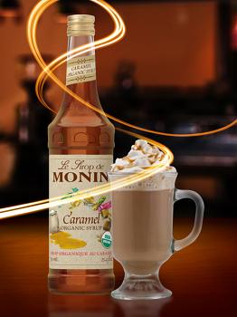 Monin Organic Caramel Syrup