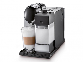 Delonghi Lattissima Plus Nespresso Single Serve Espresso Machine Silver