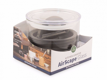AirScape Glass 32 oz Coffee Container