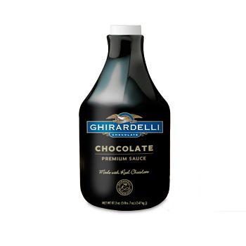 Ghirardelli 'Black Label'  Chocolate Sauce  (Dark)