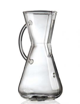 Chemex Glass Handle Series 3 Cup Glass Coffee Maker
