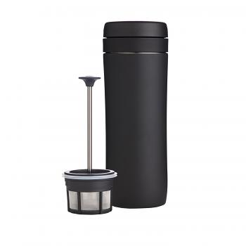 Espro Travel Press with Coffee Filter 10--15oz Meteorite Black #5012C-BK