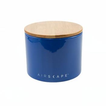 "AirScape Ceramic 32oz Coffee Canister 4"" - Cobalt Blue"
