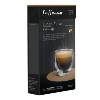 Caffesso Espresso Capsules - Lungo Forte - Box of 10
