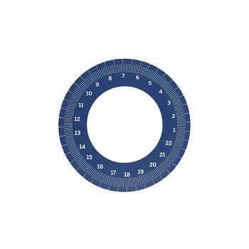 Mahlkonig EK43 Precision Dial BLUE