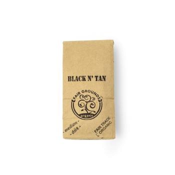 Fair Grounds Coffee Black N' Tan Fair Trade Organic 1/2lb