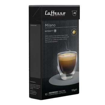 Caffesso Espresso Capsules - Milano - Box of 10 (EXP JULY 2021)