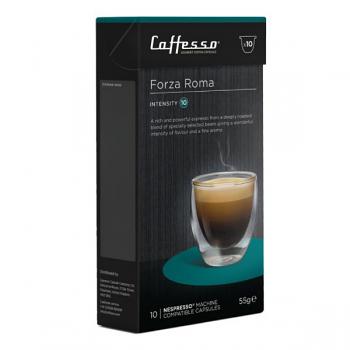 Caffesso Espresso Capsules - Forza Roma - Box of 10 (EXP JUL 2020)