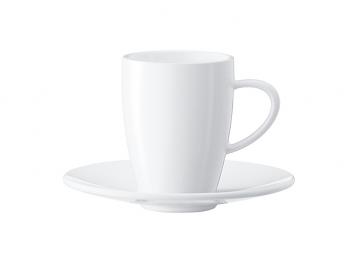 Jura Espresso Cups & Saucers Set of 2 - #66497