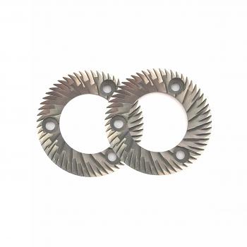 Fiorenzato F4E Nano Replacement Burrs - 58mm - Set of 2 Burrs