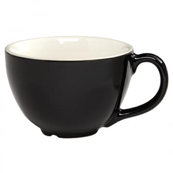 CremaWare 16oz Black Cappuccino Cup