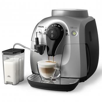 Philips / Saeco Series 2100 Easy Cappuccino Super Automatic Espresso Machine - Silver AMF