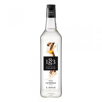 1883 Eggnog Syrup 1L Glass Bottle