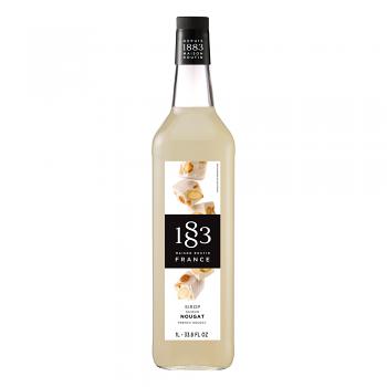 1883 French Nougat Syrup 1L Glass Bottle