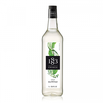 1883 Mojito Mint 1L Glass Bottle