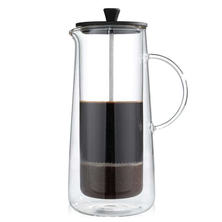 Zassenhaus Aroma Press Double Walled French Press Coffee Maker - 8 cups / 34 fl. oz. - M045024