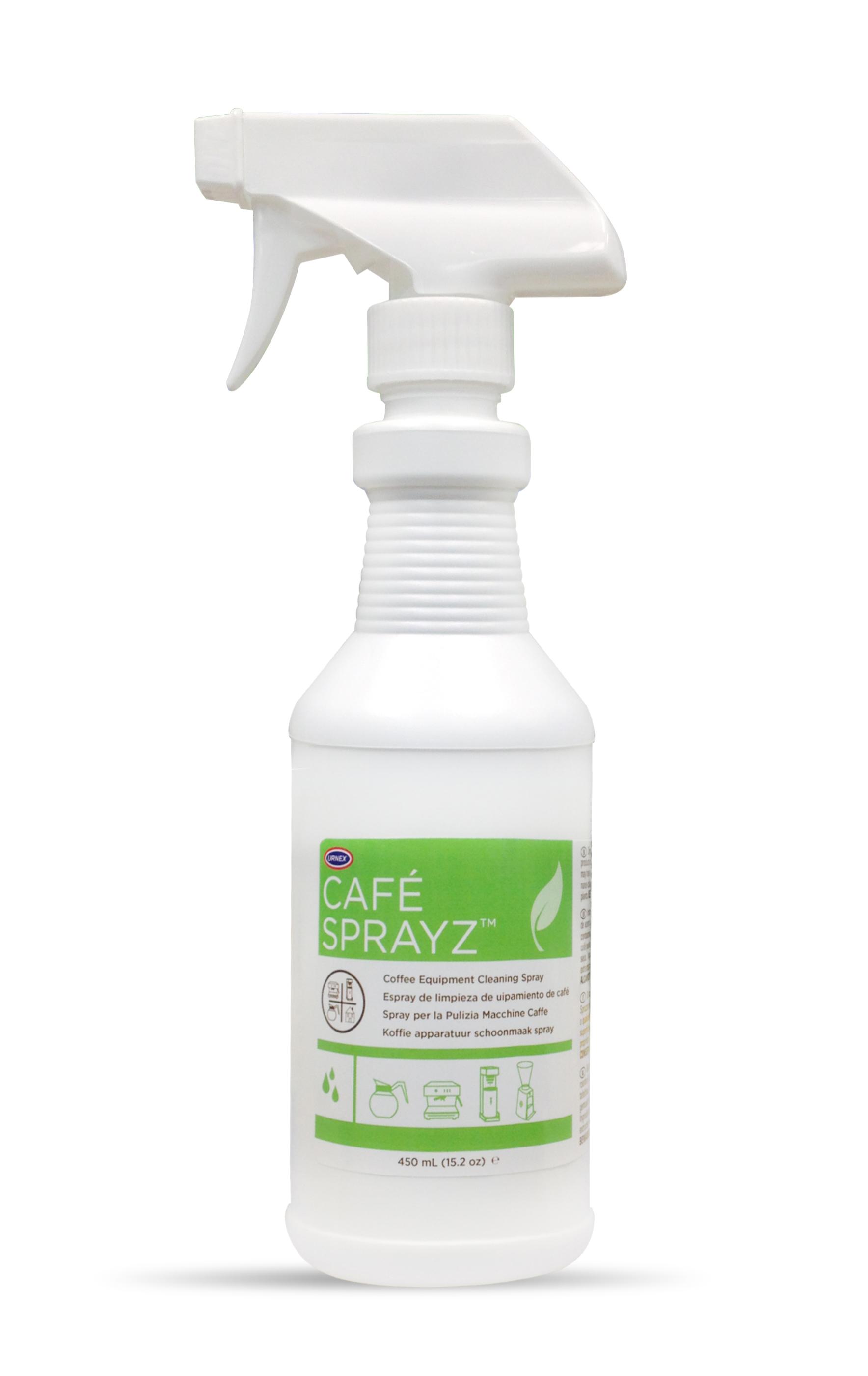 Urnex Cafe SprayZ Coffee Equipment Cleaning Spray