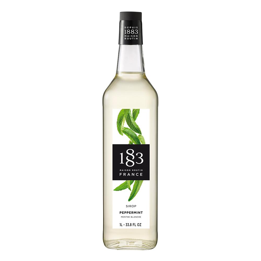 1883 Peppermint 1L Glass Bottle