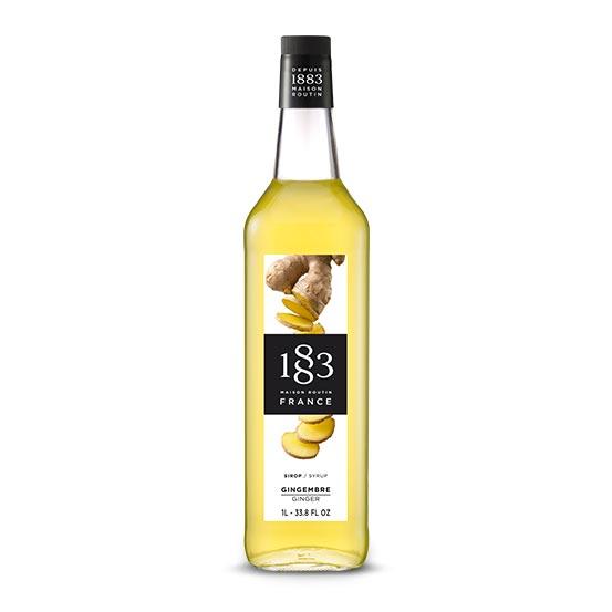 1883 Ginger Syrup 1L Glass Bottle