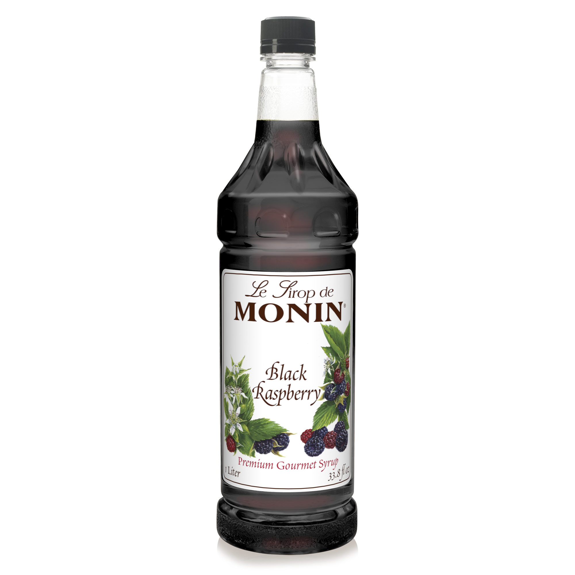 Monin Black Raspberry Syrup 1L