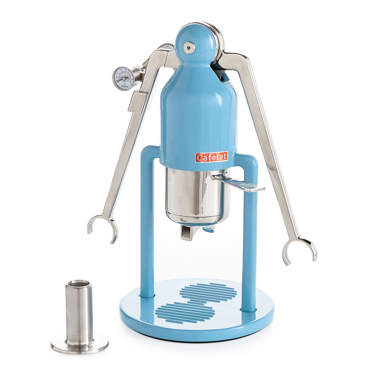 Cafelat Robot Manual Espresso Maker - Barista Version Retro Blue - #308