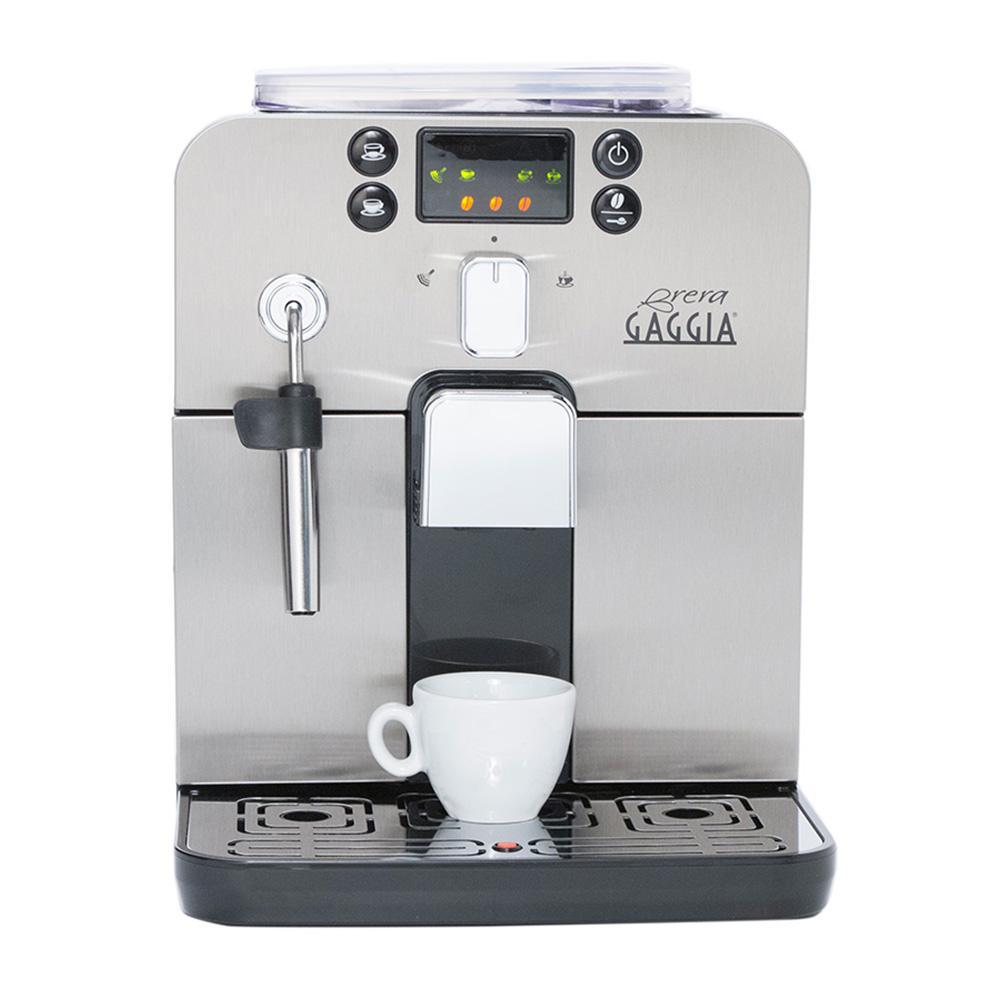 Gaggia Brera Super Automatic Espresso Machine - Silver Model No.RI9305/48 (OPEN BOX - IN STORE PURCHASE ONLY)