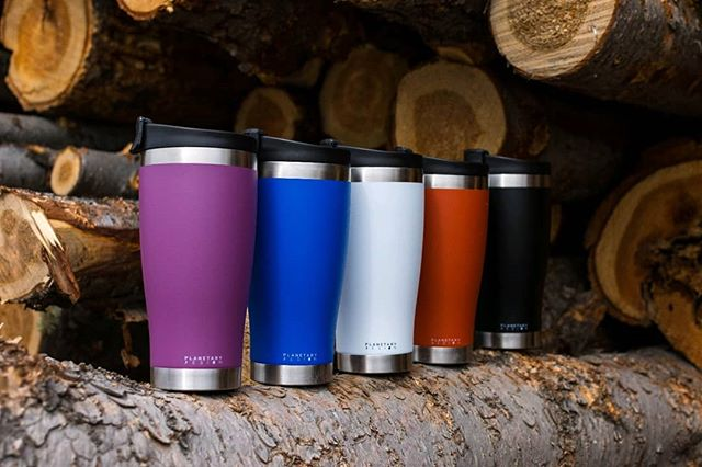 BruTrek by Planetary Design Adventure Tumbler 16oz Obsidian Black