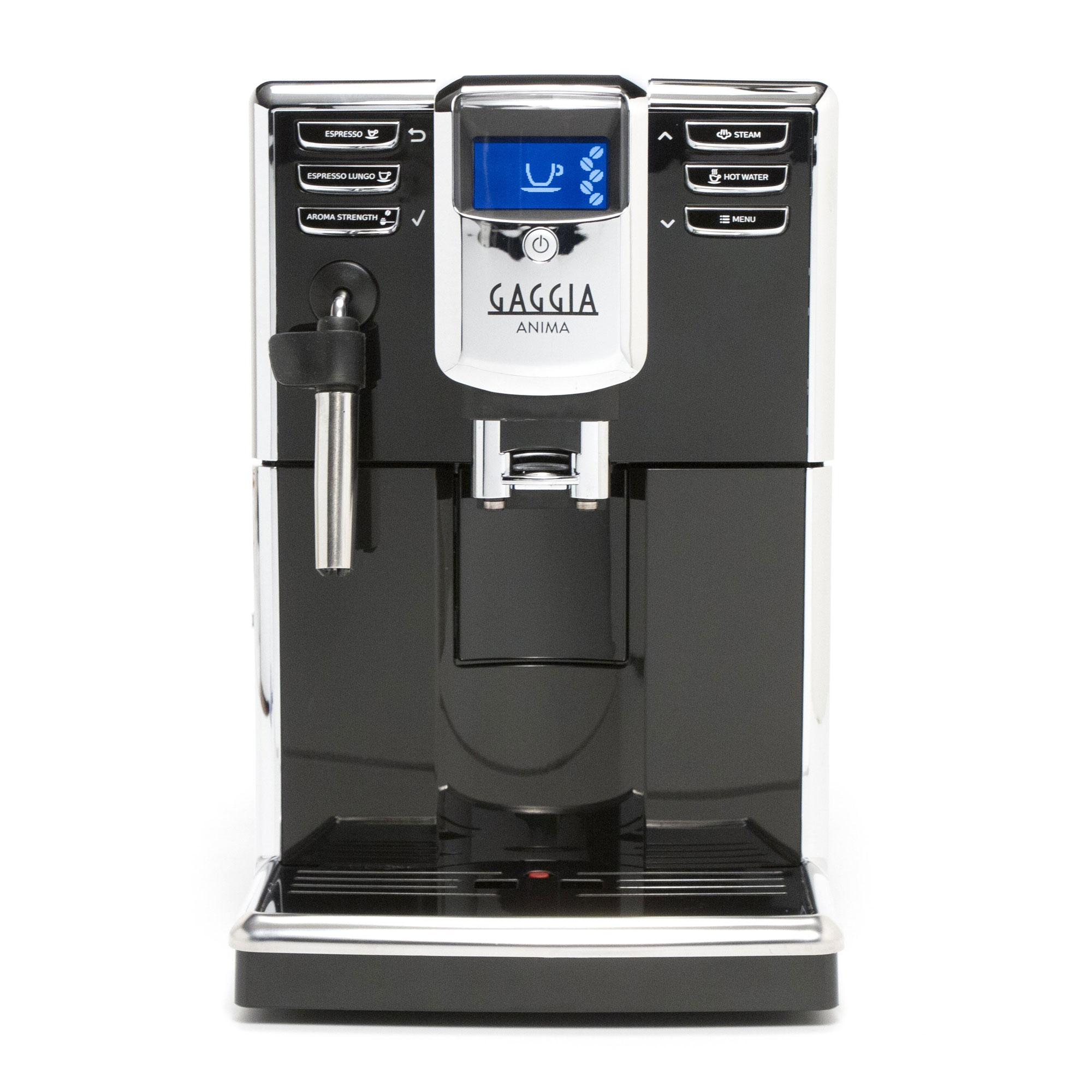 Gaggia Anima Super Automatic Espresso Machine - Black Model No.RI8760/46