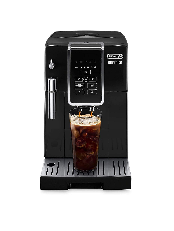 DeLonghi Dinamica TrueBrew Super Automatic Espresso Machine Black - ECAM35020B
