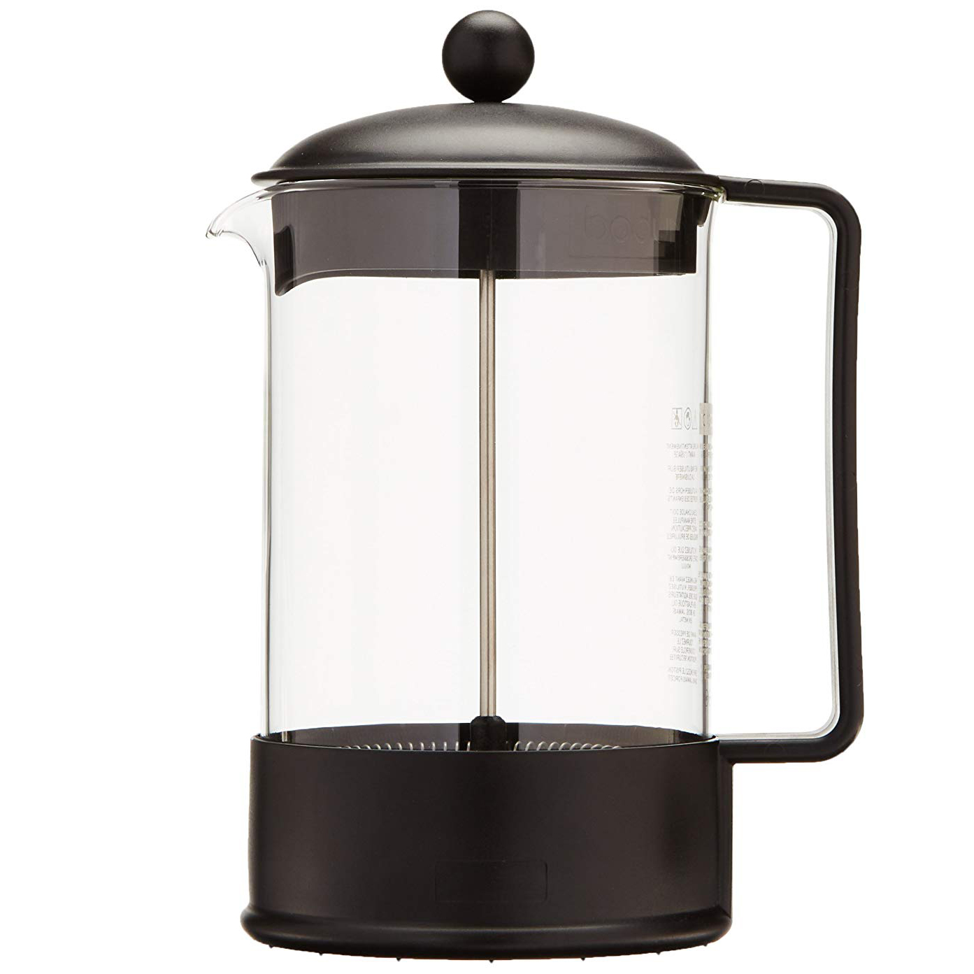 Bodum Brazil 12 Cup French Press Coffee Maker 15l 51oz Espresso
