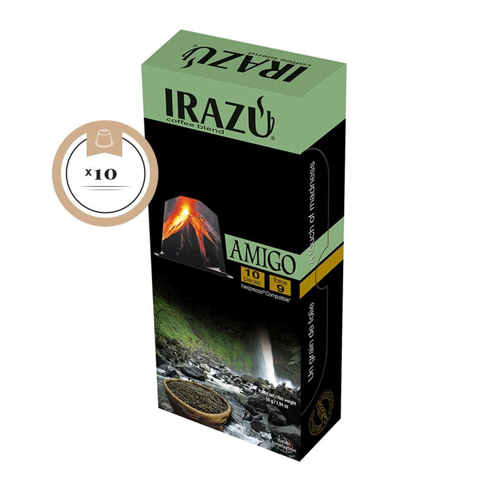 Irazu Amigo Nespresso Compatible Capsule Box of 10