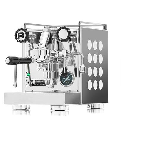 Rocket Appartamento Semi Automatic Espresso Machine White