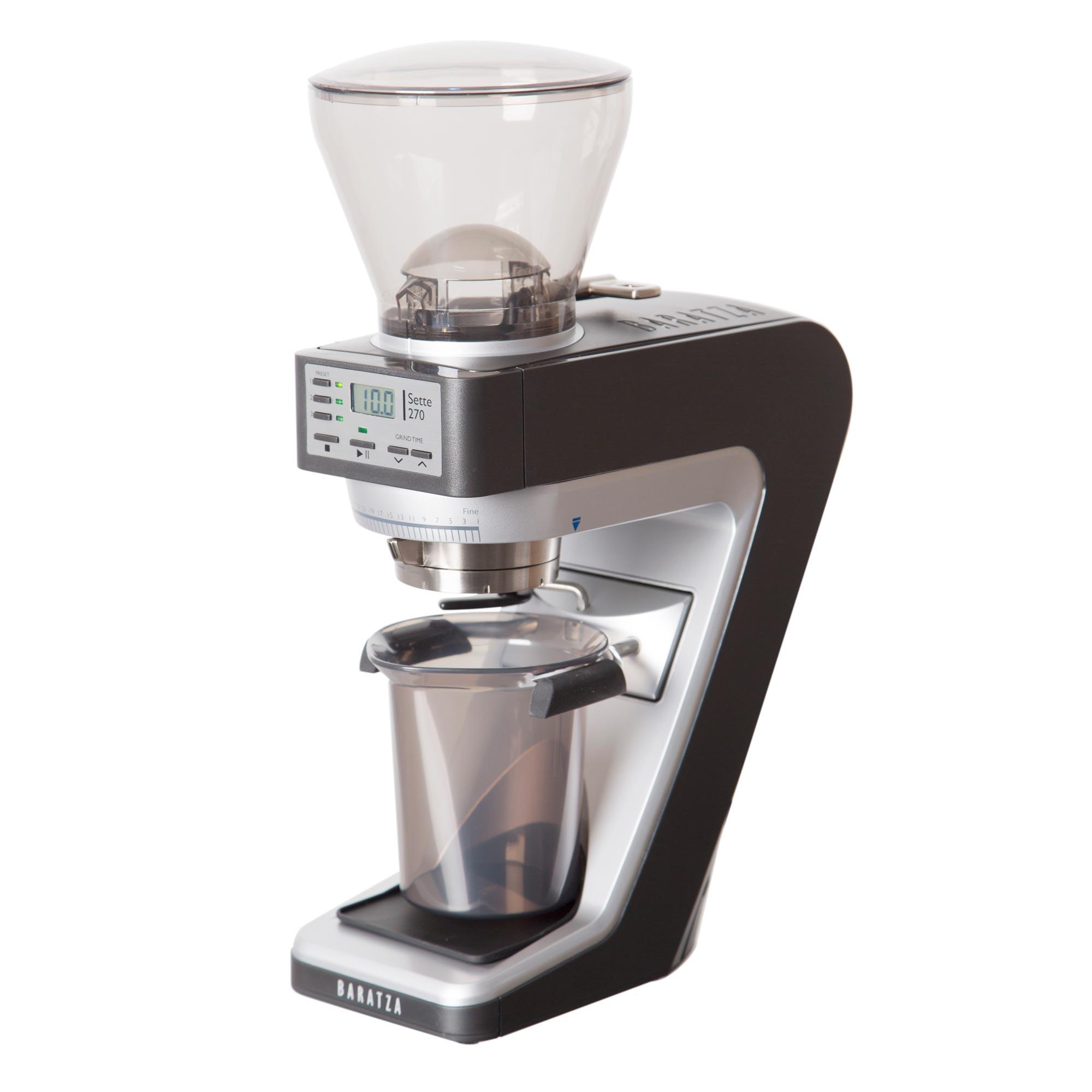 Rancilio Silvia M Black Espresso Machine and Baratza Vario Grinder Bundle
