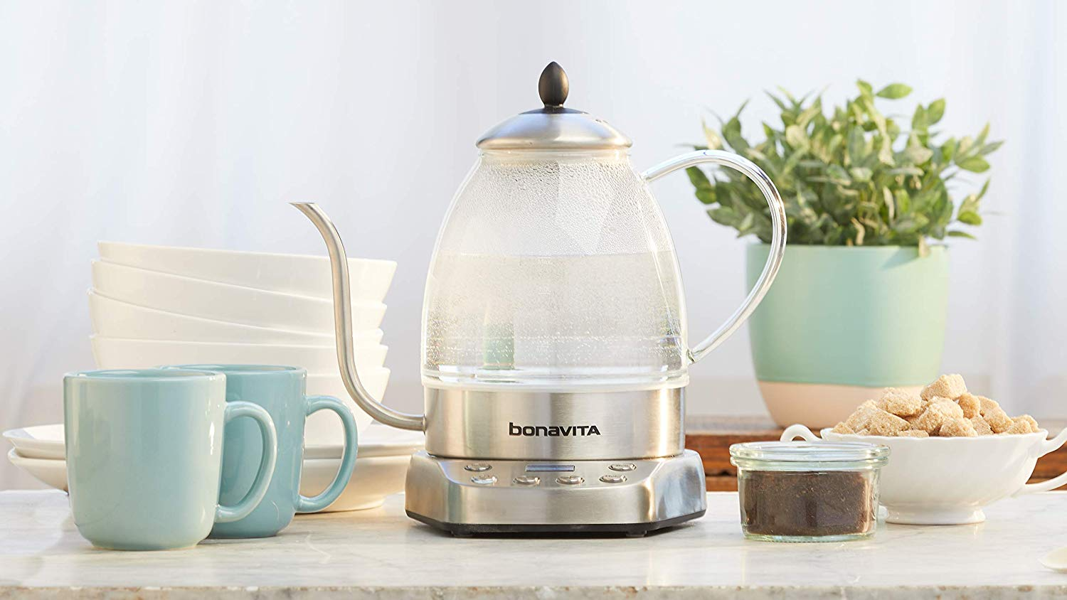 Bonavita Cosmopolitan Glass Kettle