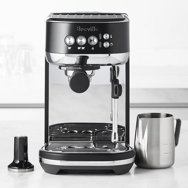 Breville Bambino Plus BKE845BTR Espresso Machine - Black Truffle