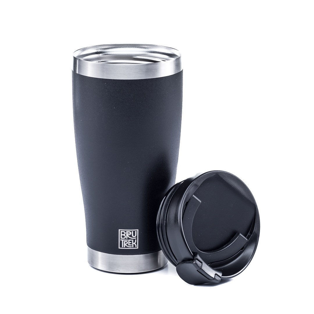 BruTrek by Planetary Design Adventure Tumbler 16oz Obsidian Black - TM0716