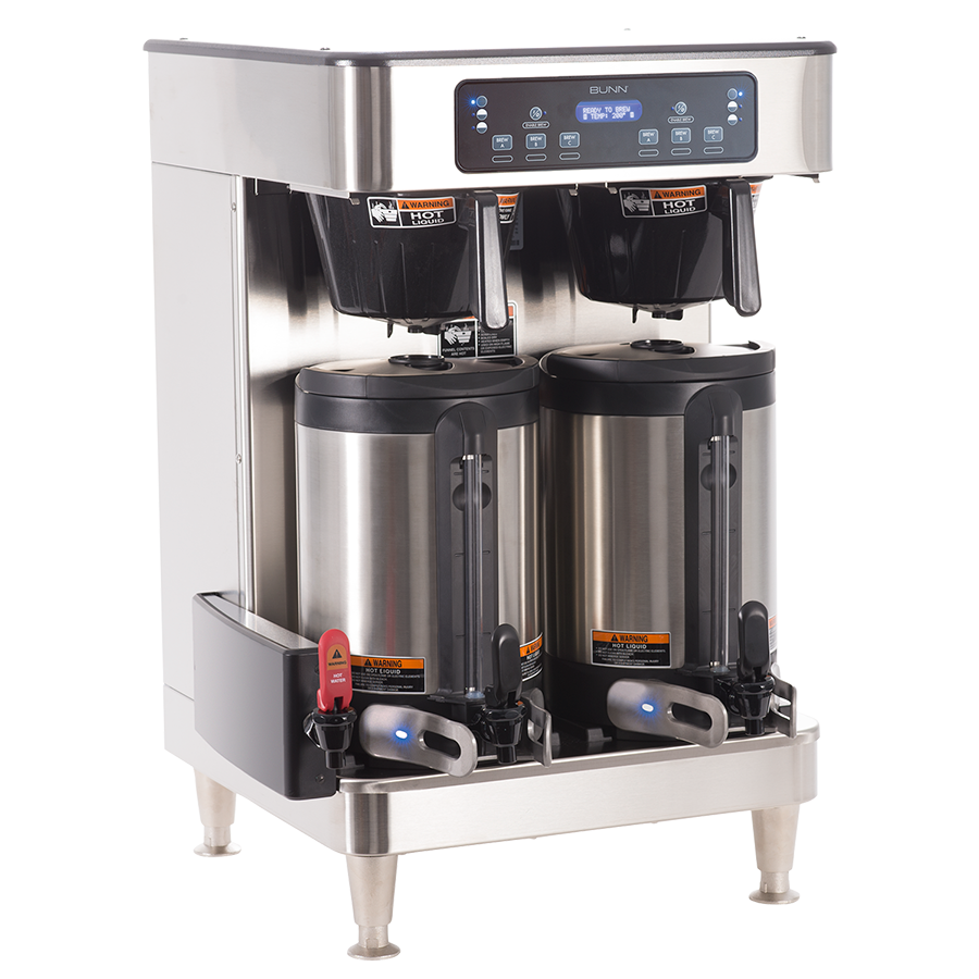 Bunn Infusion Series Twin Soft Heat Coffee Brewer Stainless - 51200.0100